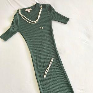 Stretchy Midi Dress
